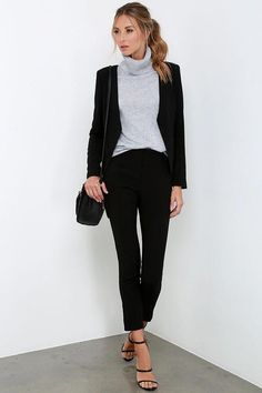 Business Professional Outfits, Casual Professional, Business Outfit, Business Casual Outfits, Casual Winter Outfits, Business Fashion, Corporate Outfits For Women, Job Interview Outfits For Women, Interview Attire