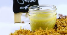 Herbal Dry Skin Salve (with chamomile, calendula, & roses)