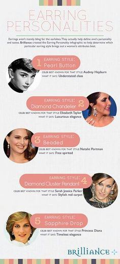 What your earrings say about you