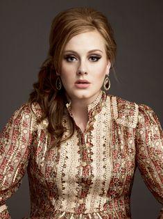 Adele - beautiful music....beautiful person
