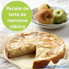 Tarta de manzana sin gluten, ideal para niños celíacos. http://www.guiainfantil.com/669/tarta-de-manzana-para-ninos-celiacos.html