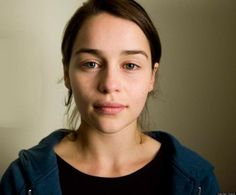 Emilia Clarke Without Makeup. Models Without Photoshop. View Original ...