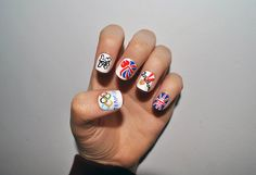 Olympic nails! #London2012