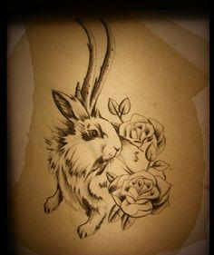 jackalope tattoo - Recherche Google