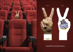 Comedy Central: Hand - Art Director / Copywriter: Rod Henriques