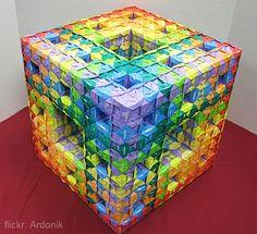 Уровень 2 Менгер Губка в Модульное оригами