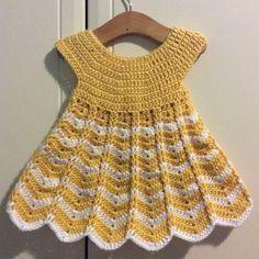 Baby Patterns, Knitting Patterns, Crochet Patterns, Dress Patterns, Crochet For Kids, Knit Crochet, Booties Crochet, Crochet Hats, Crochet Girls Dress Pattern