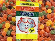 70s childhood jelly tots