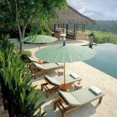 The pool at Amandari Villa, Bali. Great place for honeymoon. Honeymoon Getaways, Bali Honeymoon, Honeymoon Suite, Honeymoon Planning, Romantic Honeymoon, Honeymoon Destinations, Honeymoon Ideas, Honeymoon Escapes, Romantic Resorts