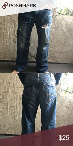 49c05ce1 Shop Men's American Eagle Outfitters size 33 Bootcut at a discounted price  at Poshmark. Description: Men's original Boot American Eagle Outfitters  jeans.