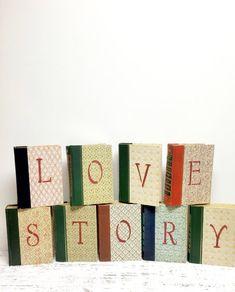 Love Story ~ Bridal Shower Book Theme Wedding ~ by beachbabyblues