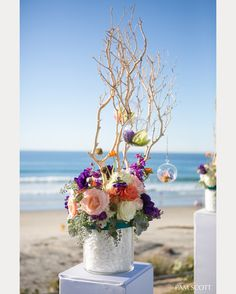 stunning wedding centerpieces used for ceremony decor ~ we ❤ this! moncheribridals.com
