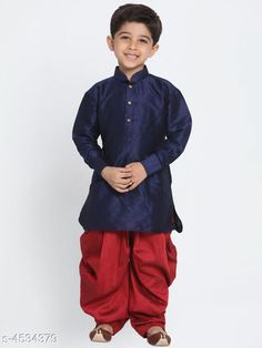 Checkout this latest Kurta Sets Product Name: * Ethnic Kid's Boy's Kurta Sets* Sizes:  6-12 Months, 12-18 Months, 18-24 Months, 1-2 Years, 2-3 Years, 3-4 Years, 5-6 Years, 6-7 Years, 12-13 Years, 13-14 Years Country of Origin: India Easy Returns Available In Case Of Any Issue   Catalog Rating: ★4 (213)  Catalog Name: Ethnic Kid's Boy's Kurta Sets Vol 12 CatalogID_655943 C58-SC1170 Code: 407-4534379-4881