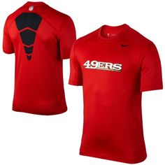 Men's San Francisco 49ers Nike Scarlet Elite Hybrid