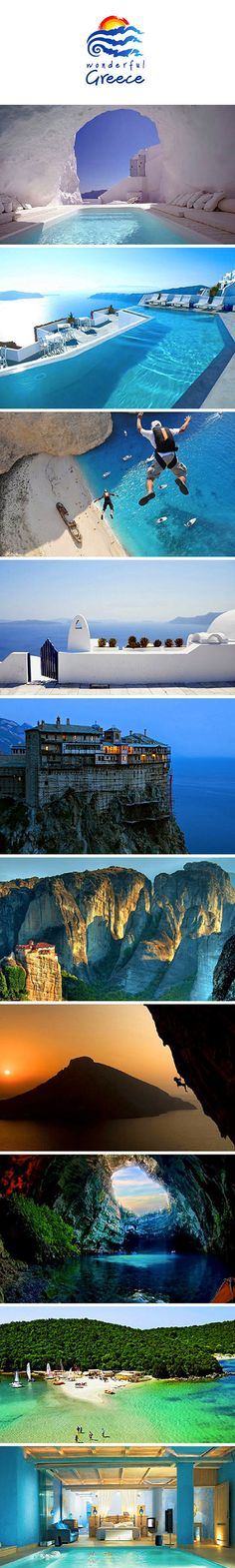 A few images that show why Greece should definitely be on your travel bucket list.