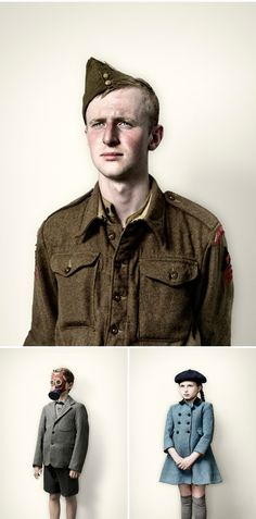 "jim naughten - from the ""re-enactors"" photography series"