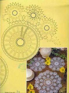 Patterns and motifs: Crocheted motif no. 476