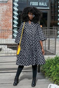 Dola dress coat - Zuvaa African Wear, African Dress, Black White Fashion, Black And White, Coat Dress, Shirt Dress, White Style, Summer Wear, Choices