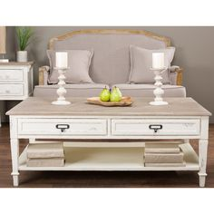 Dauphine Traditional French Accent Coffee Table | Overstock.com Shopping - The Best Deals on Coffee, Sofa & End Tables