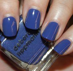 Deborah Lippmann // I Know What Boys Like <Periwinkle Blue Creme>