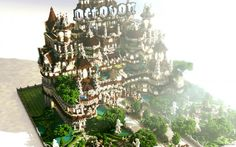 Templum - Octovon Server Spawn Minecraft Project