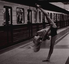 I will be able to do this someday. I will try my hardest to become a very good dancer.