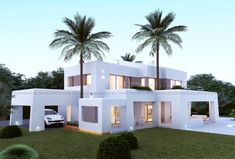 Javea 4 Bedroom New Build Property for Sale - Casaconnections Modern Exterior, Exterior Design, Mud House, Modern Villa Design, Casas Containers, Kerala House Design, Spanish House, Dream House Exterior, Modern Architecture