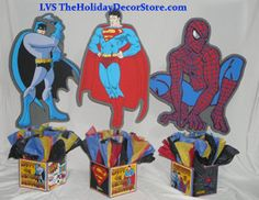 DIY medium 24 Superhero Birthday Party by PinkyandBlueBoyParty, $25.00