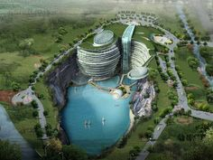 Atkins wins international design competition for hotel in Songjiang, Shanghai.