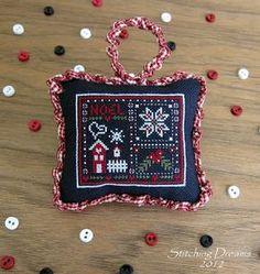 """Free """"Noel"""" Cross Stitch Pattern..."""
