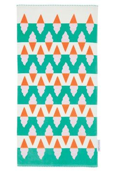 sunnylife kids clifton towel - magpies nashville