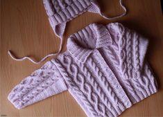Todo para Crear ... : saquitos para bebe en crochet y dos agujas