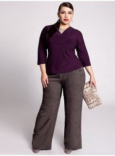 2013 Fashion Trends For Plus Size Women - Cloths That Are Slimming...