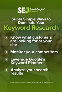 Up your PPC game with this full recap of our webinar with Erin Sagin of Wordstream. She discusses how to find new keywords to improve your PPC performance. https://www.searchenginejournal.com/sejthinktank-webinar-recap-5-super-simple-ways-dominate-ppc-kw-research/166047/
