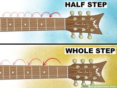 How to Learn Guitar Scales (with Pictures) - wikiHow Learn Guitar Scales, Learn Guitar Chords, Guitar Chords Beginner, Learn To Play Guitar, Guitar For Beginners, Guitar Strumming, Guitar Tabs Songs, Guitar Tips, Music Guitar