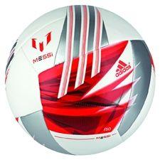 Adidas F50 Messi Soccer Balls (White/Black/Dark Orange) at soccercorner.com