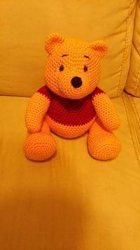 Amigurumi Winnie the Pooh – FREE Crochet Pattern / Tutorial it's in Spanish but … – Amigurumi Free Pattern İdeas. Crochet Amigurumi Free Patterns, Crochet Bear, Knit Or Crochet, Cute Crochet, Crochet Animals, Crochet Crafts, Crochet Dolls, Crochet Projects, Crochet For Kids
