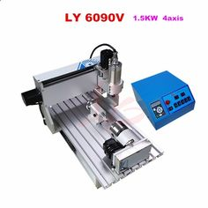 2215.00$ Buy now - ali5y0.worldwells... - Mini 3D CNC Router CNC 6040 4 Axis 1500W wood carving machine for metal stone 2215.00$