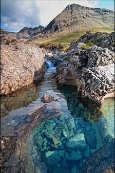 Isle of Skye Fairy Pools, Scotland