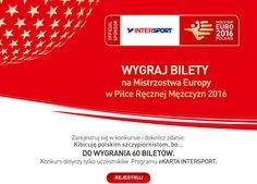 #intersport #bilety #wejsciowki #mistrzostwaeuropy #pilkareczna #konkurs #konkursy #nagrody #nagroda http://www.e-konkursy.info/konkurs/wygraj-bilety-na-mistrzostwa-europy-w-pilce-recznej-mezczyzn-2016.html