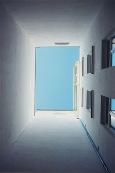 View himmelblau by Wolfgang Tillmans on artnet. Browse upcoming and past auction lots by Wolfgang Tillmans. Wolfgang Tillman, Interesting Buildings, Cecile, Himmelblau, Abstract Photos, Colorful Pictures, Primary Colors, Minimalism, Art Photography