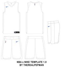 Download Basketball uniform template mockup vector | Vector Apparel ...