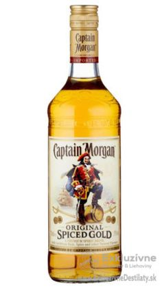 Captain Morgan Spiced Gold 0,7 l 35%