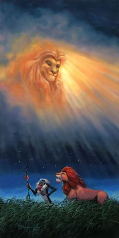 just think of the happiest things – the kind of animation: Rodel Gonzalez – Lion King – the Simba Disney, Art Disney, Disney Kunst, Disney Lion King, Disney And Dreamworks, Disney Love, Disney Pixar, Disney Stuff, Lion King Fan Art