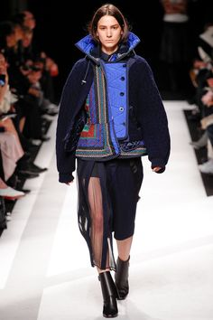 Sacai | Fall 2014 Ready-to-Wear Collection | jacket at guyafirenze.com- sacai fw collection