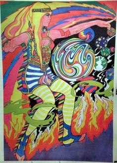 Richard Jones 1967 - Psychedelic