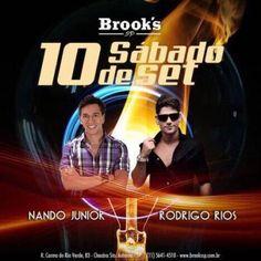 Sábado bombando na Brooks! Infos e Listas no Site: http://www.baladassp.com.br/balada-sp-evento/Brooks-SP/459 Whats: 95167-4133