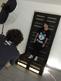 Today shooting for Blown Wind summer capsule