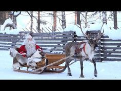 Santatelevision: Official Internet TV with videos about Santa Claus / Father Christmas, reindeer and Lapland in Finland, Santa Claus' home in Rovaniemi. Santa Clause video center in Finnish Lapland Santa Claus Village, Santa Claus Is Coming To Town, Lappland, Father Christmas, Christmas Fun, Christmas Scenery, Christmas In Europe, Lapland Finland, Visit Santa