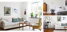 Como decorar un piso pequeño, de 38 m2 - http://www.decoora.com/como-decorar-un-piso-de-38-m2.html